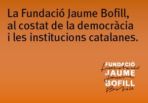 La Fundació Jaume Bofill, al costat de la democràcia i les institucions catalanes