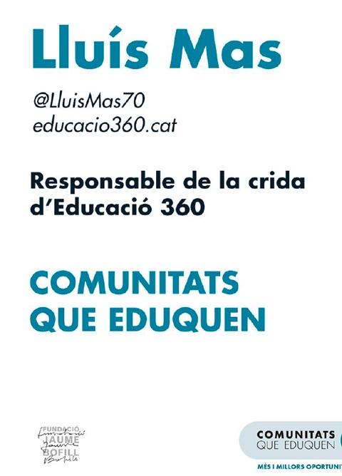 Presentació: Comunitats que eduquen
