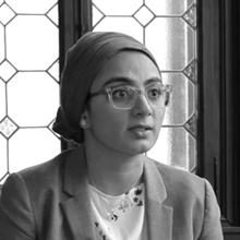 Sana  Jafri. Cap de programa de Chicago Learning Exchange