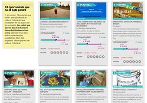 El suport de la comunitat fa realitat 11 projectes educatius