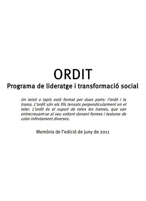 ORDIT. Programa de lideratge i transformació social