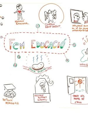 Infografia. Fem educació