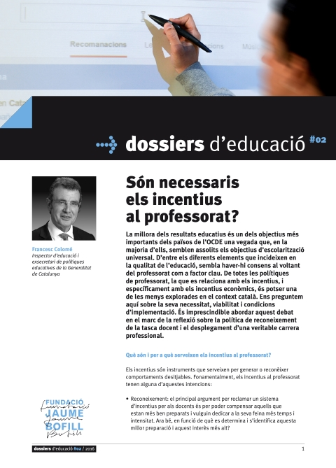 Dossiers d'educació