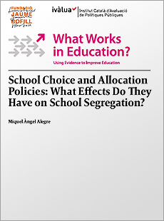 School Choice and Allocation Policies: What Effects Do They Have on School Segregation?