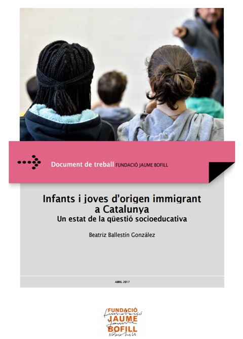 Infants i joves d'origen immigrant a Catalunya