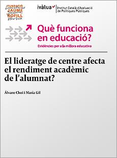 El lideratge de centre afecta el rendiment acadèmic de l'alumnat?