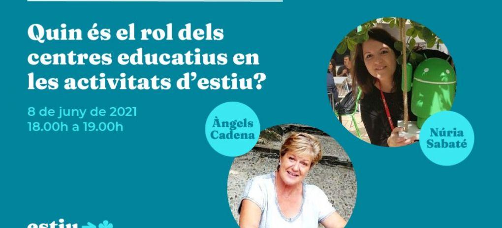 Quin és el rol dels centres educatius en les activitats d'esti...