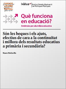Són les beques i els ajuts efectius de cara a la continuïtat i millora dels resultats educatius a primària i secundària?