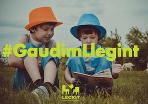 Vols participar a la campanya #gaudimllegint del projecte Lecxit?