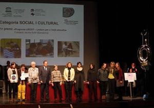 El LECXIT ha rebut el X Premi Federico Mayor Zaragoza