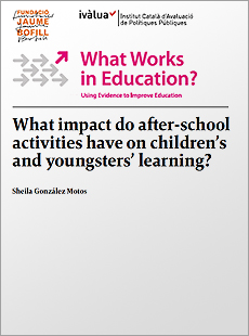 What impact do after-school activities have on children's and youngsters' learning?