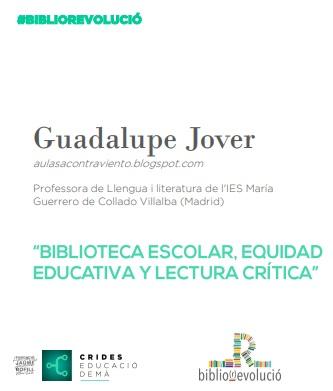 Biblioteca escolar, equidad educativa y lectura crítica