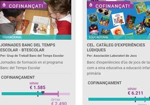 La comunitat educativa finança 11 projectes educatius