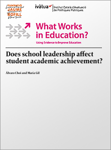 Does school leadership affect student academic achievement?