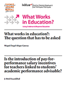 What Works in Education: Salary incentives for teachers?
