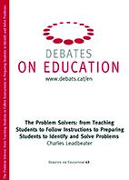 The Problem Solvers: from Teaching Students to Follow Instructions to Preparing Students to Identify and Solve Problems