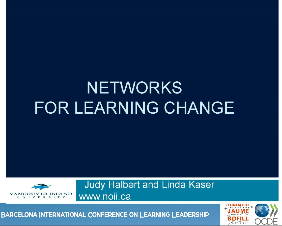 Networks for learning change