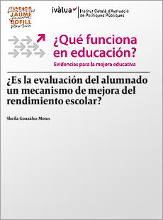 ¿Es la evaluación del alumnado un mecanismo de mejora del rendimiento escolar?