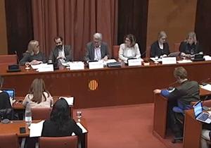 Escola Nova 21 al Parlament de Catalunya
