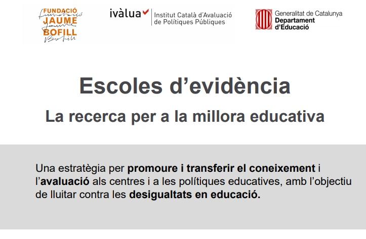 Presentació: Escoles d'evidència
