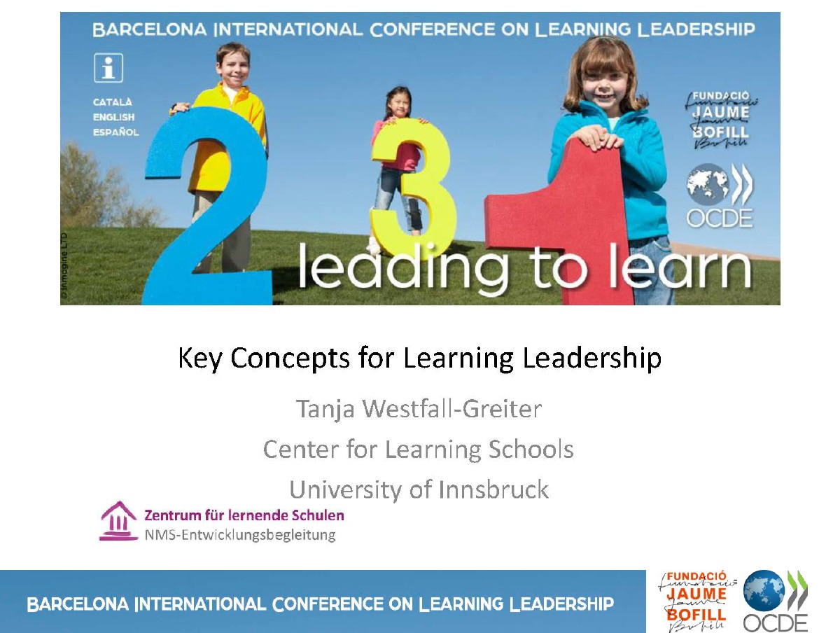 Key Concepts for Learning Leadership