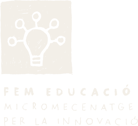 Volem donar suport i acompanyar als emprenedors educatius en la generació de propostes innovadores al mateix temps que enfortir el vincle amb la comunitat compromesa a través de campanyes de micromecenatge.