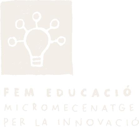 Volem donar suport i acompanyar als emprenedors educatius en la generació de propostes innovadores al mateix temps que enfortir el vincle amb la comunitat compromesa a través de campanyes de micromecenatge.