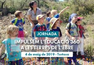 Docents, entitats, famílies i ajuntaments es reuneixen per impulsar l'Educació 360 a les Terres de l'Ebre