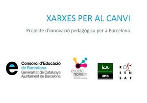 Nota de premsa de la presentació de Xarxes per al canvi, el nou projecte d'innovació educativa per a Barcelona