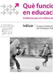 Presentació: Quin impacte tenen les activitats extraescolars sobre els aprenentatges dels infants i joves?