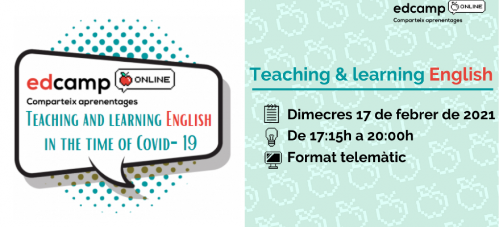 Edcamp Teaching & Learning English in the time of Covid-19