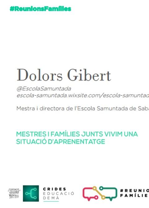 Presentació: Reunions famílies per Dolors Gibert