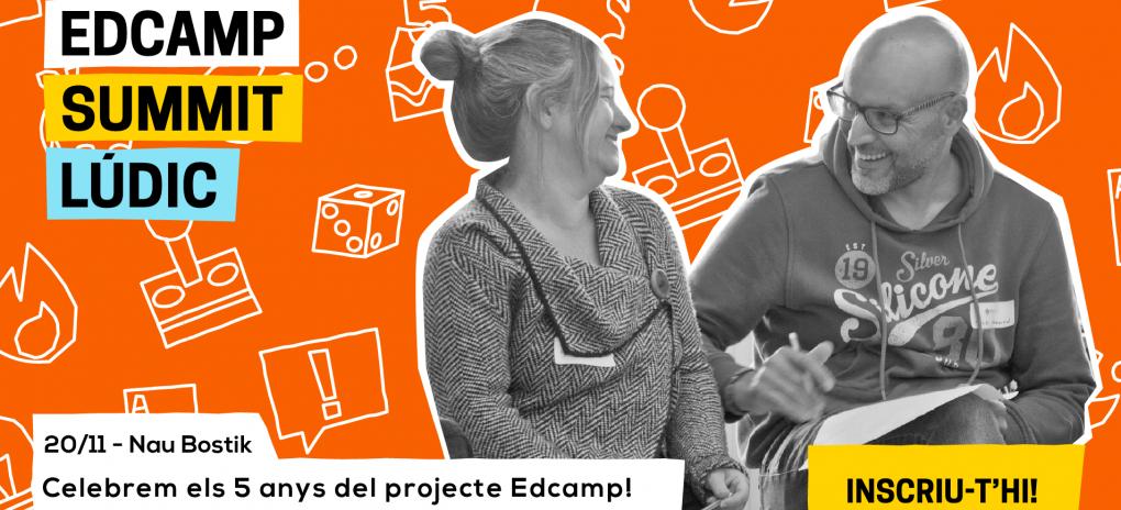 Celebra amb nosaltres el 5è aniversari del projecte Edcamp!