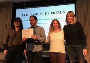 Primer premi: membres de l'escola Bernat Metge