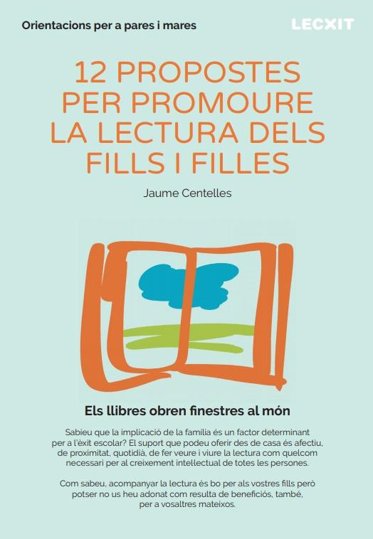 12 propostes per promoure la lectura dels fills i filles