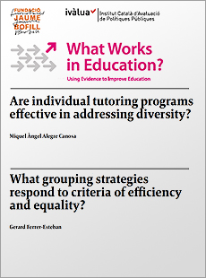 What Works in Education: Classroom Grouping and Individual Tutoring