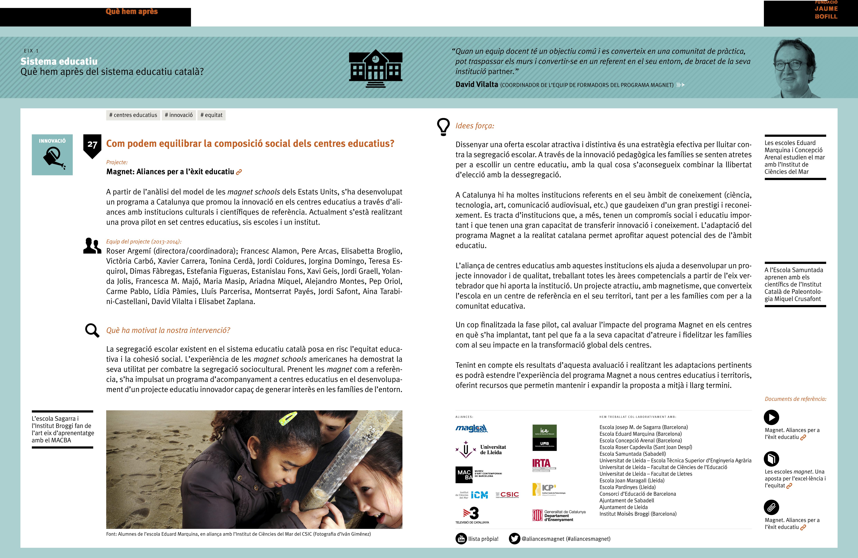 Com podem equilibrar la composició social dels centres educatius?