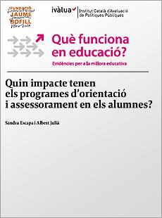 Quin impacte tenen els programes d'orientació i assessorament en els alumnes?