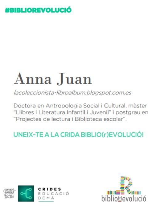 Presentació: I si repensem els usos de la biblioteca escolar? Anna Juan