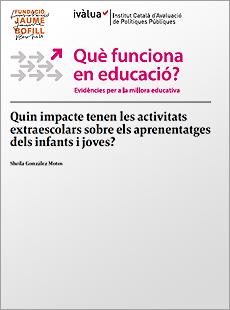 Quin impacte tenen les activitats extraescolars sobre els aprenentatges dels infants i joves?